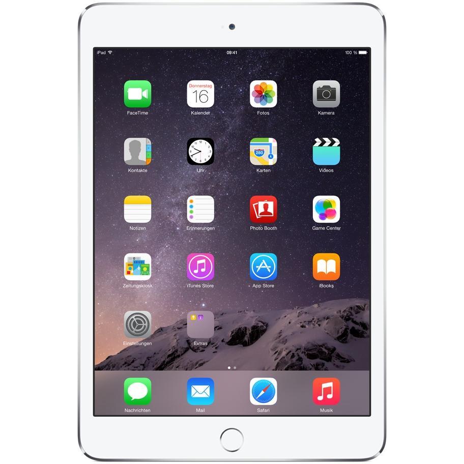 iPad mini 3 64GB - Silber - Wlan