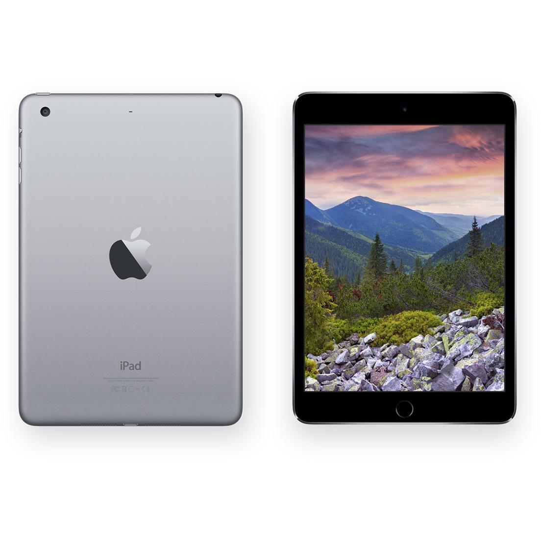 iPad Mini 3 64 GB - Wifi + 4G - Gris espacial - Libre