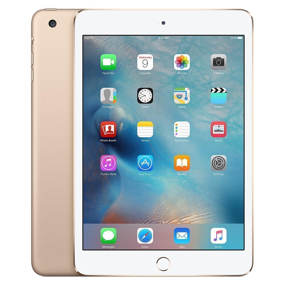 iPad mini 3 7.9'' 128 Go - Wifi + 4G - Or - Débloqué