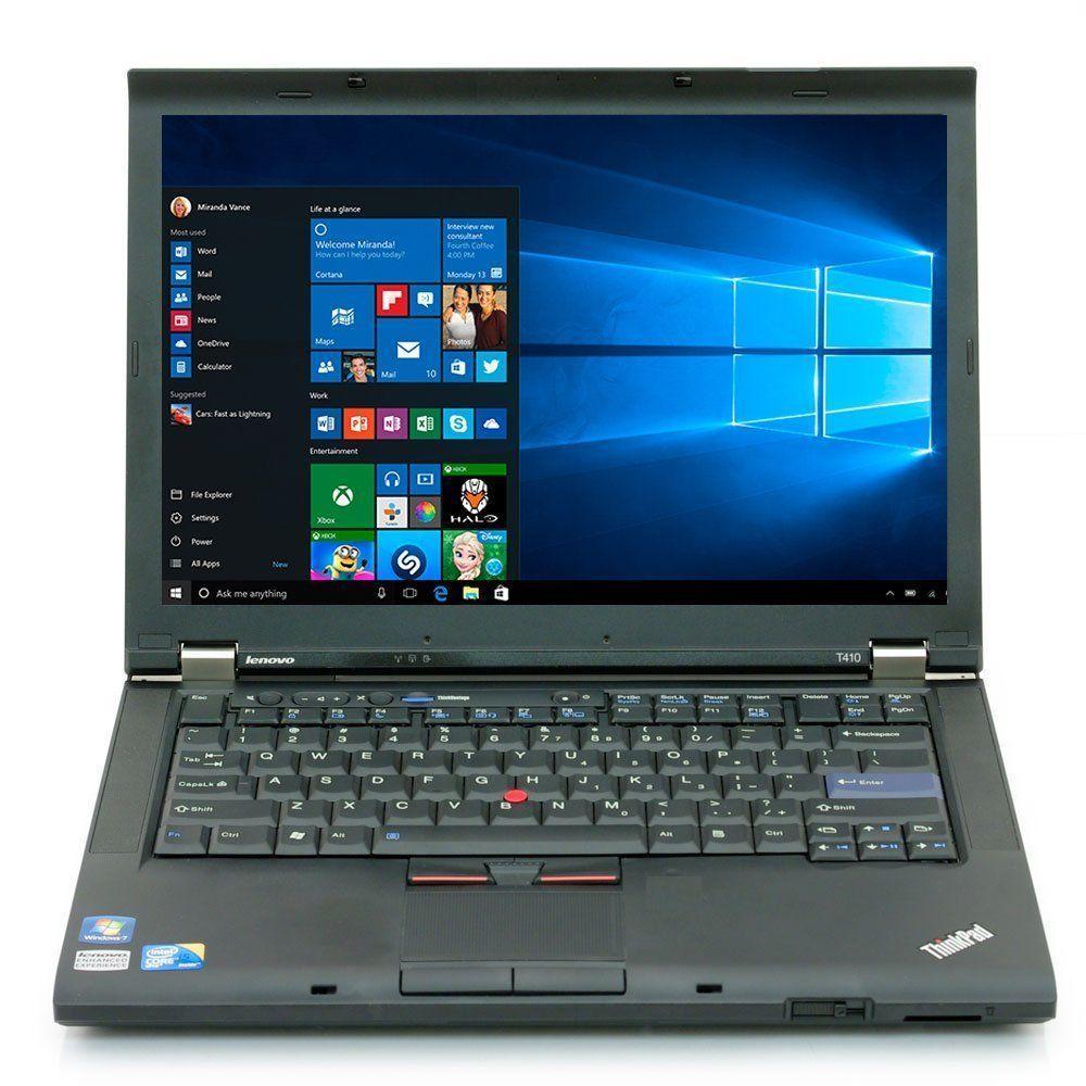 "Lenovo ThinkPad T410 14"" Core i5 2,4 GHz  - HDD 1 TB - 8GB AZERTY - Frans"
