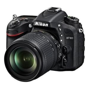 Reflex - Nikon D7100 - Nero + Obiettivo Nikkor 18-105 VR