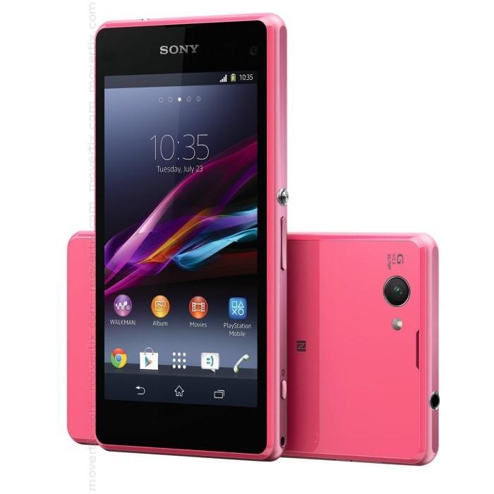 Sony Xperia Z1 Compact 4G - Rosa - Libre