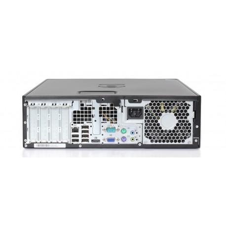 """Hp Compaq 8100 Elite SFF 17"""" Core i5 3,2 GHz - HDD 250 GB - 4GB teclado francés"""