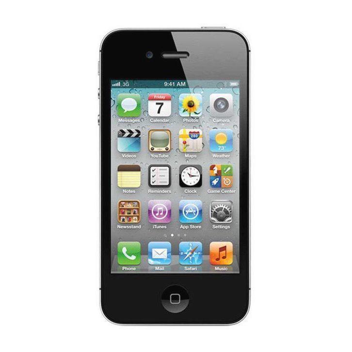 iPhone 4 16GB - Schwarz - Ohne Vertrag