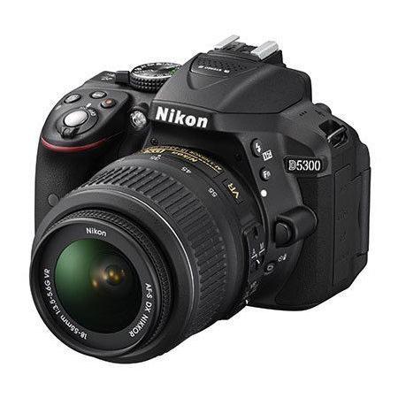 Cámara Réflex - Nikon D5300 + NIKKOR 18-55MM