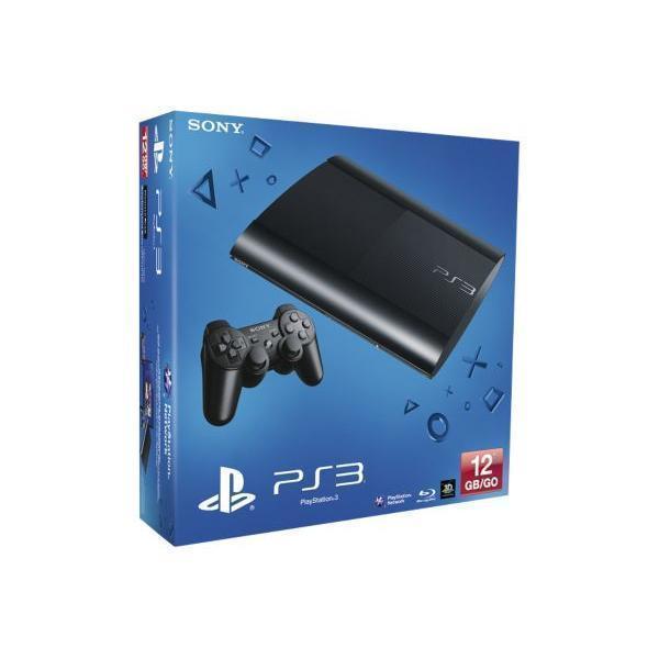 Console Sony PlayStation 3 Ultra Slim 12 Go + manette - Noir