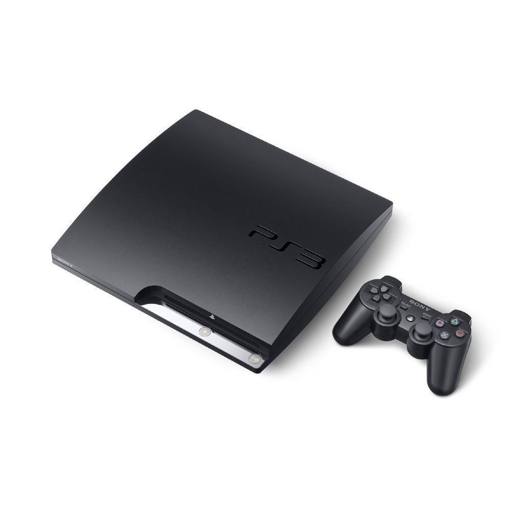Sony Playstation 3 Slim 320 Go - Noir
