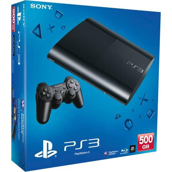 Sony Playstation 3 Ultra Slim 500 GB - Negro