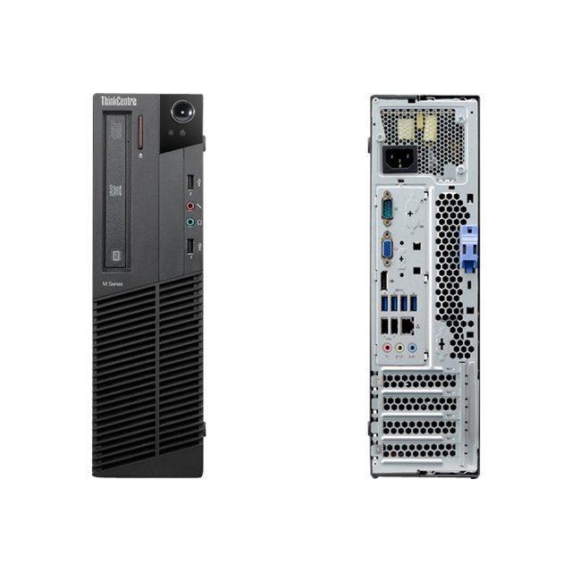 """Lenovo ThinkCentre M91p SFF 22"""" Core i5 3,1 GHz - SSD 480 Go - 16GB"""