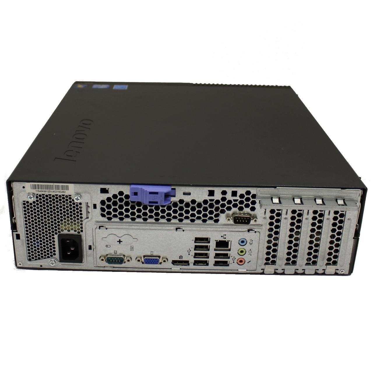 """Lenovo ThinkCentre M91p SFF 22"""" Core i3 3,3 GHz - HDD 2 tb - 16GB AZERTY"""