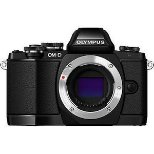 Hybrid - Olympus OM-D E-M10 Ohne objektiv - Schwarz