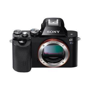 Yksisilmäinen Peiliheijastuskamera Sony Alpha 7S Musta - Vain Keholle