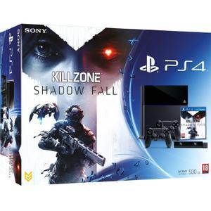 Console Sony Playstation 4 500 Go + Killzone Shadow Falls + Playstation Camera + 2 Dual Shock 4 - Noir