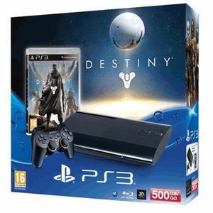 Konsole Sony PlayStation 3 Ultra Slim 500Go  + Destiny Bundle - Schwarz