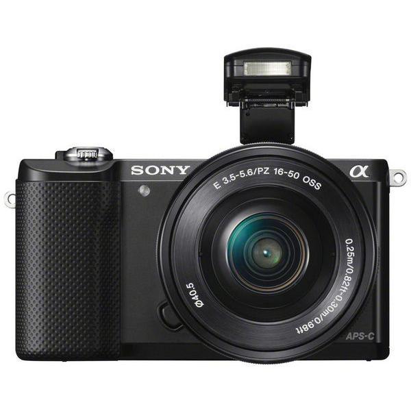Sony Alpha A5000 Híbrido 20 - Preto