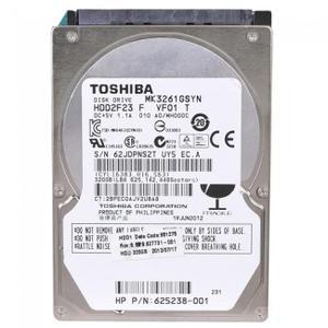 "Disque dur interne 2.5"" 320Go - Toshiba MK3261GSYN"