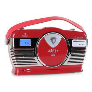 Radio Auna RCD-70 -Rouge