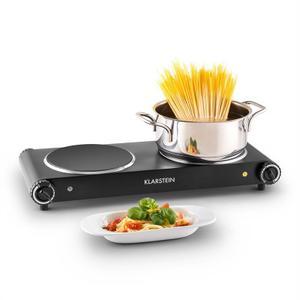 Table de cuisson - Electrique 2 foyers - Klarstein Captain Cook²