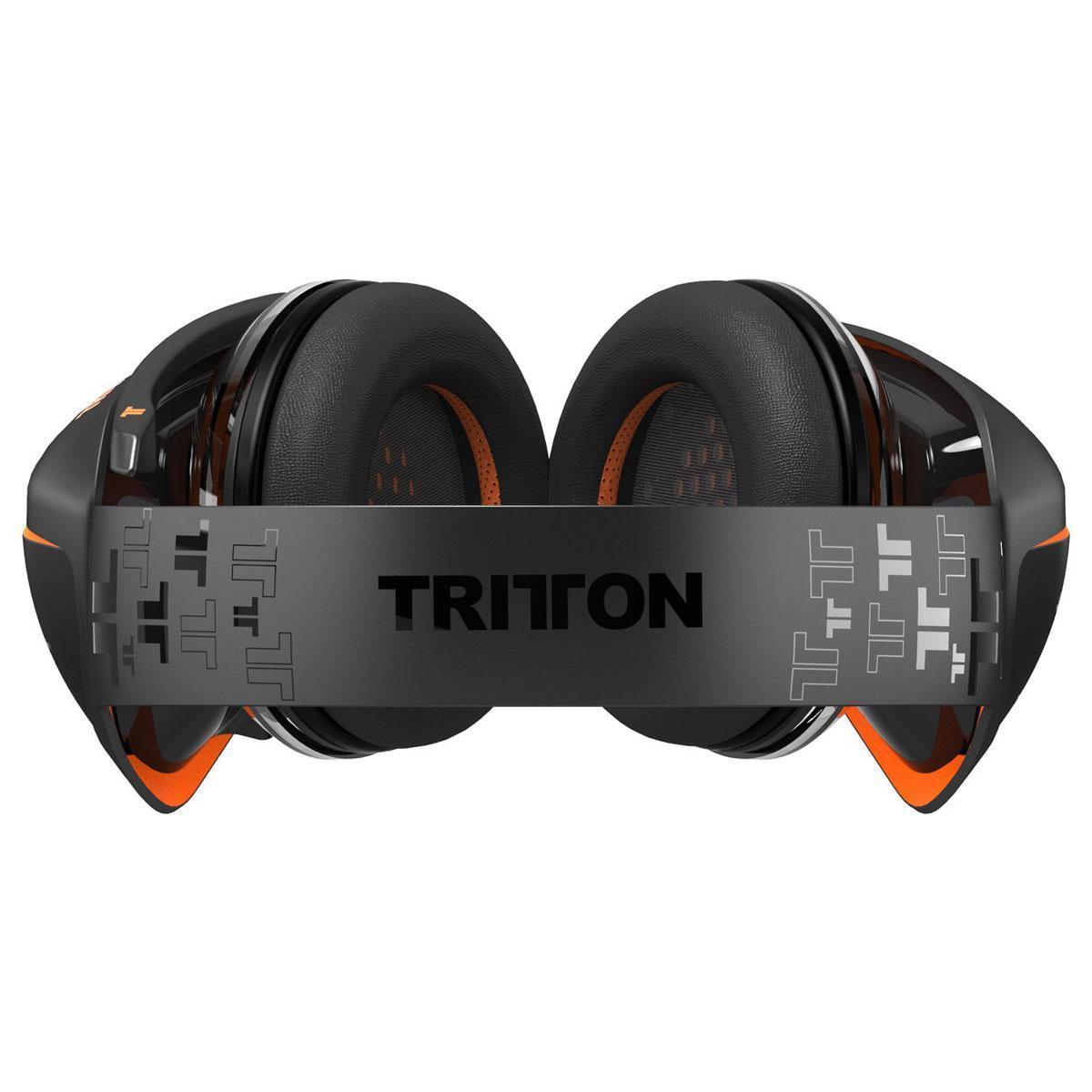 Tritton ARK100 Kuulokkeet Gaming Mikrofonilla - Musta/Oranssi