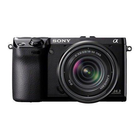 Hybride Sony NEX-7 - Zwart + Lens Sony 18-55mm f/3.5-5.6