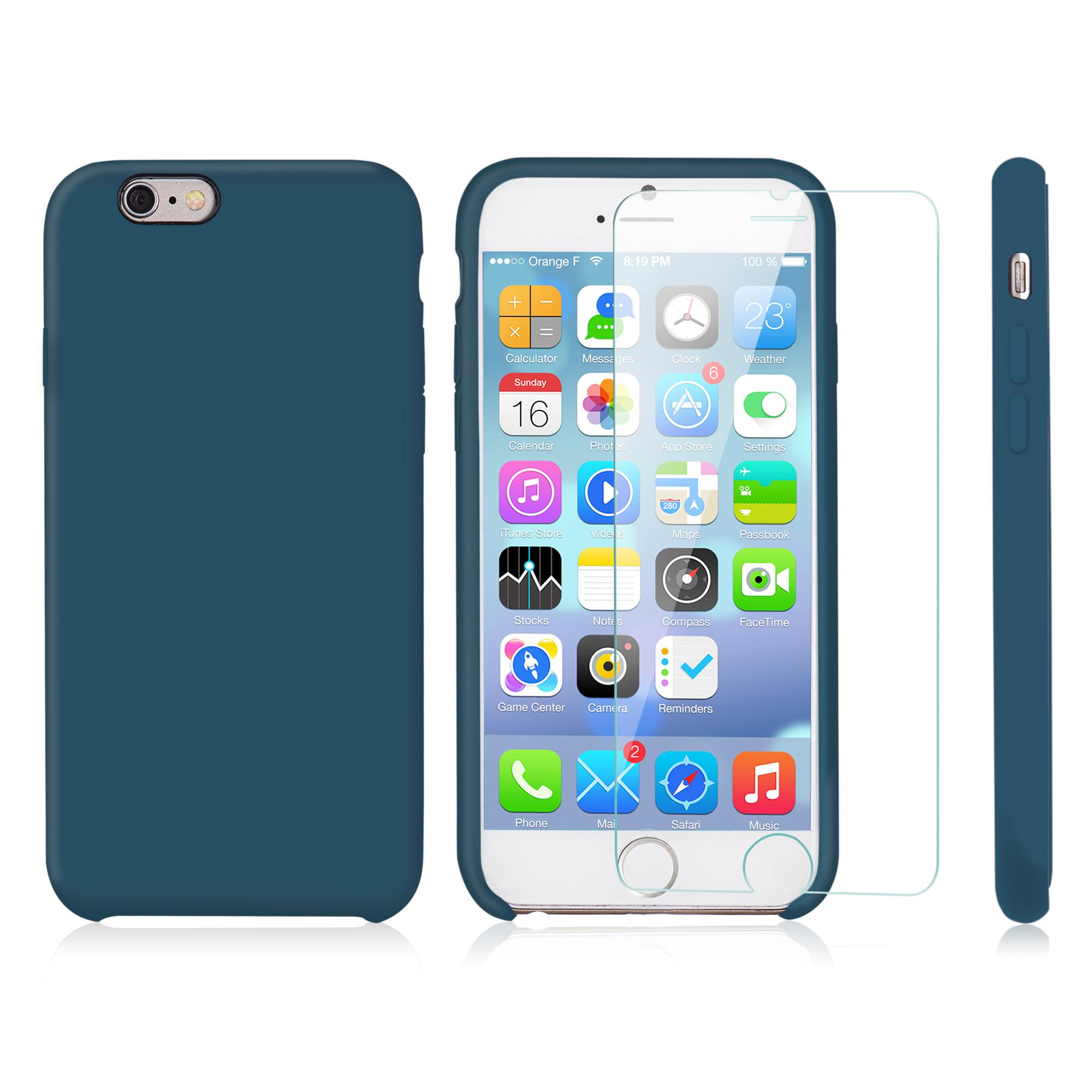 iphone 6 6s protection pack blue night cover und. Black Bedroom Furniture Sets. Home Design Ideas