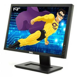 19-inch Dell E1911C 1440 x 900 LCD Monitor Black