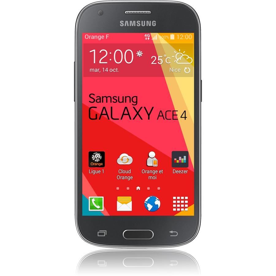 Galaxy Ace 4 - Schwarz- Ohne Vertrag