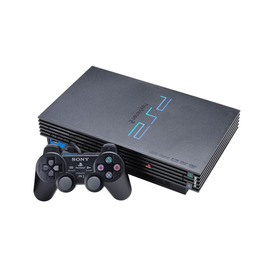 PlayStation 2 - HDD 0 MB - Čierna