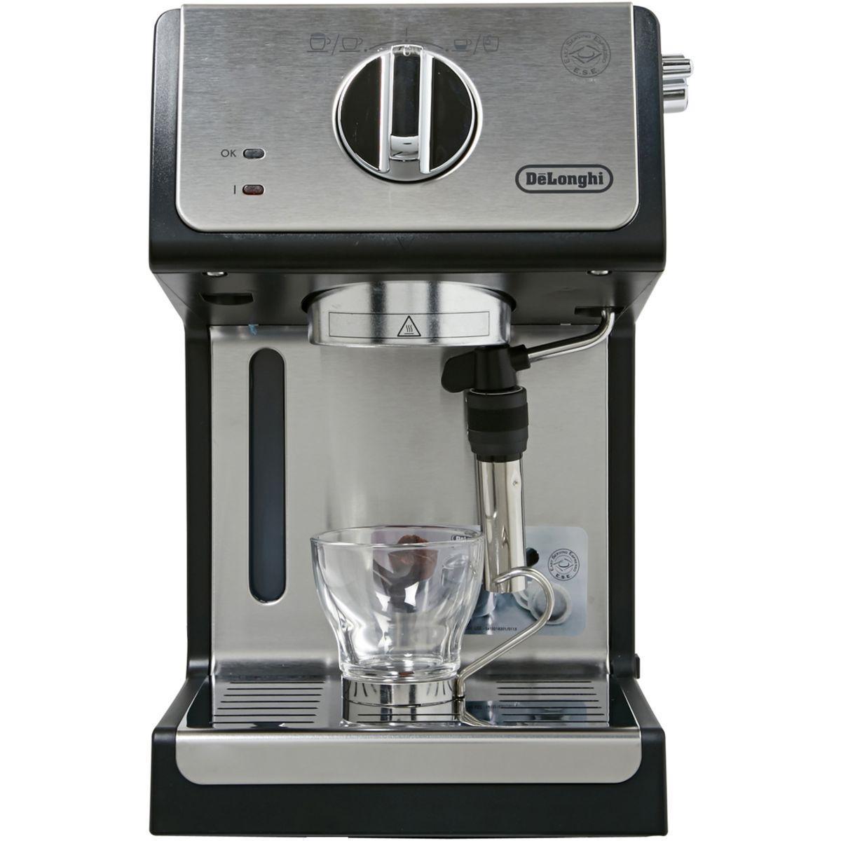 Máquinas de Café Espresso Compatível com cápsulas e.s. e De'Longhi ECP35.31