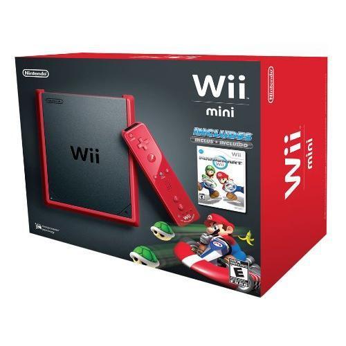 Nintendo Wii Mini RVL-201 - HDD 0 MB - Red/Black