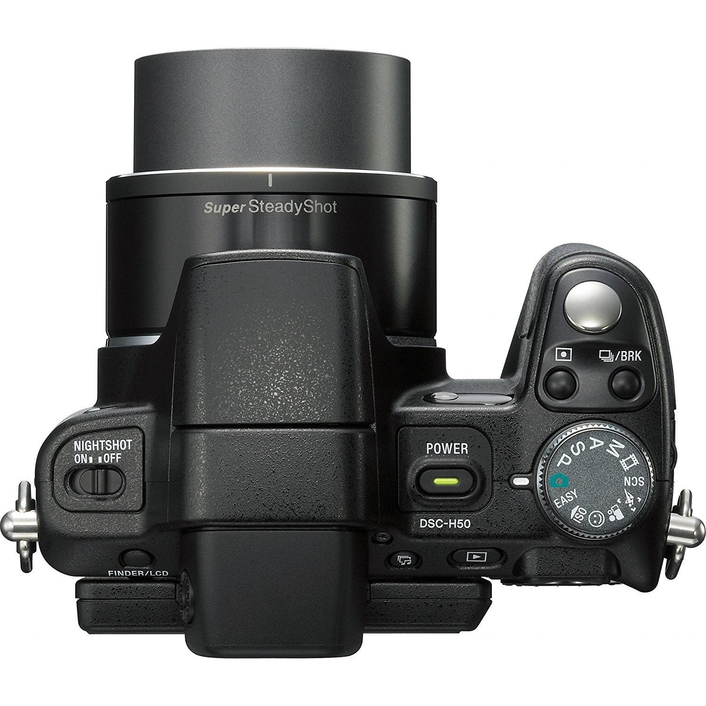 Sony Cyber-shot DSC-H50 Kompakt 9 - Čierna