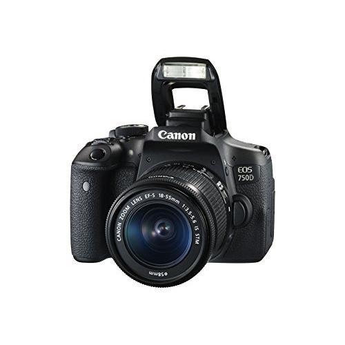 Canon EOS 750D Reflex 24 - Black
