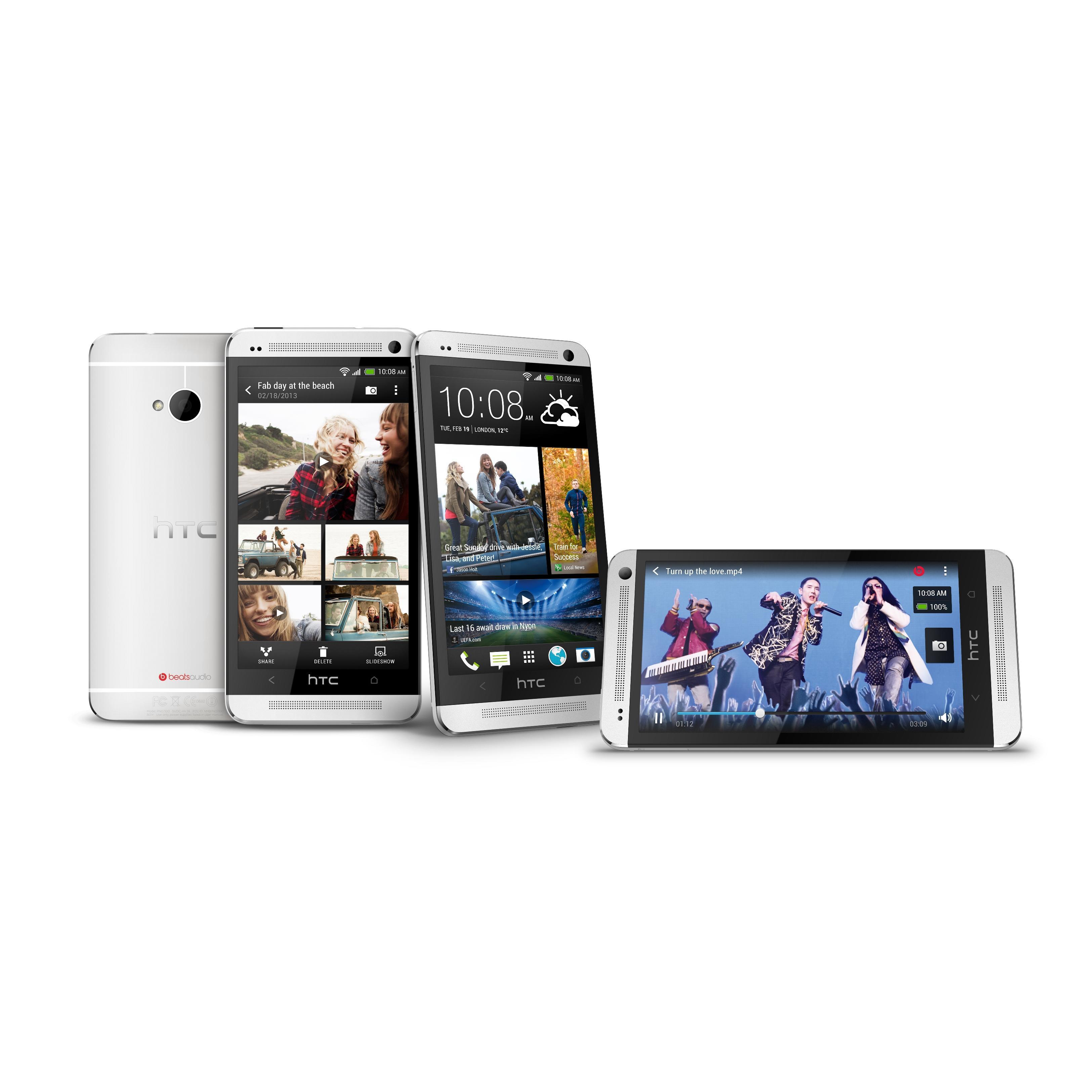 HTC One M7 32 GB - Plata - Libre