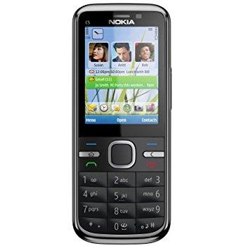 Nokia C5-00 - Black - Unlocked