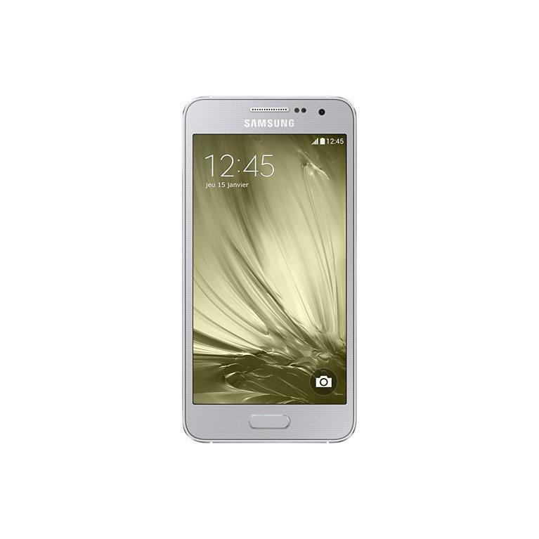 Galaxy A3 (2015) 16 Go - Argent - Débloqué