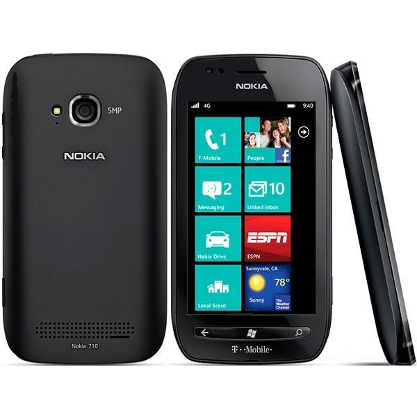 Nokia Lumia 710 - Noir- Débloqué