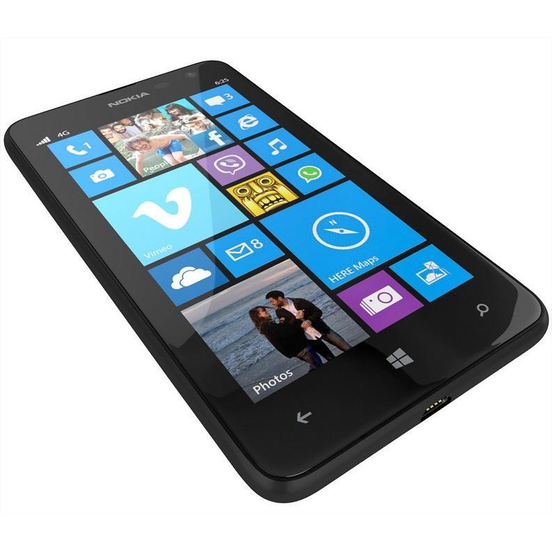 Nokia Lumia 625 - Nero- Compatibile Con Tutti Gli Operatori