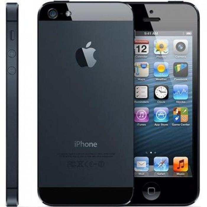 iPhone 5 16 Go - Noir - Débloqué
