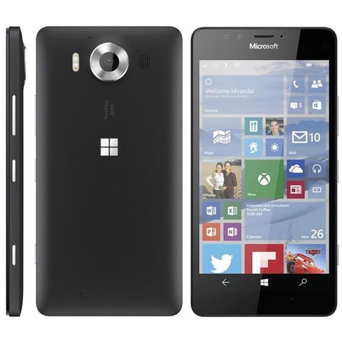 Microsoft Lumia 950 - Noir- Débloqué