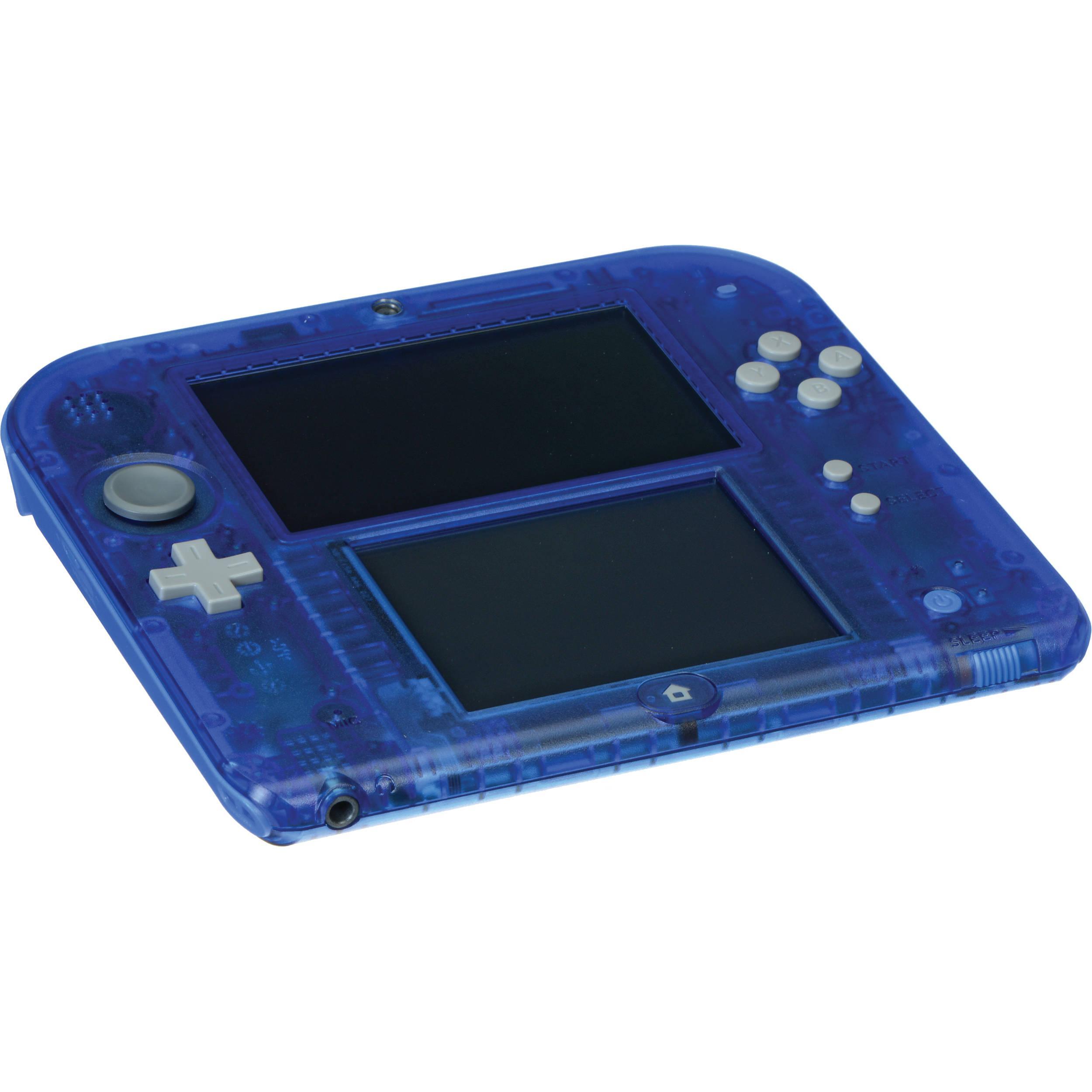 Nintendo 2DS - HDD 0 MB - Modrá