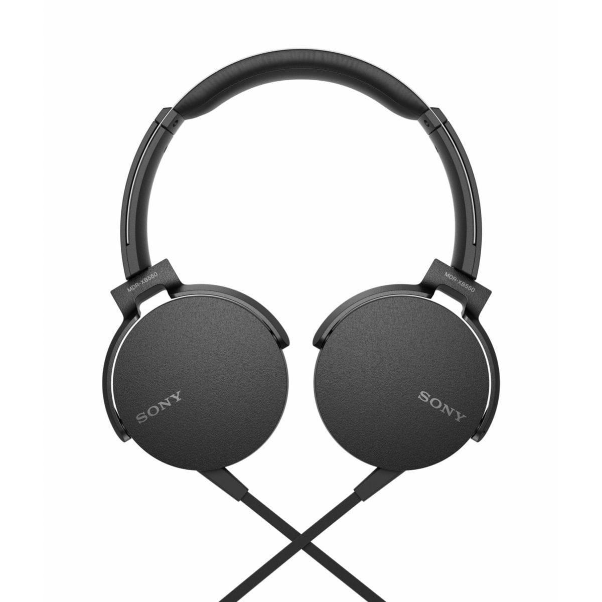 Casque avec Micro Sony MDR-XB550AP - Noir