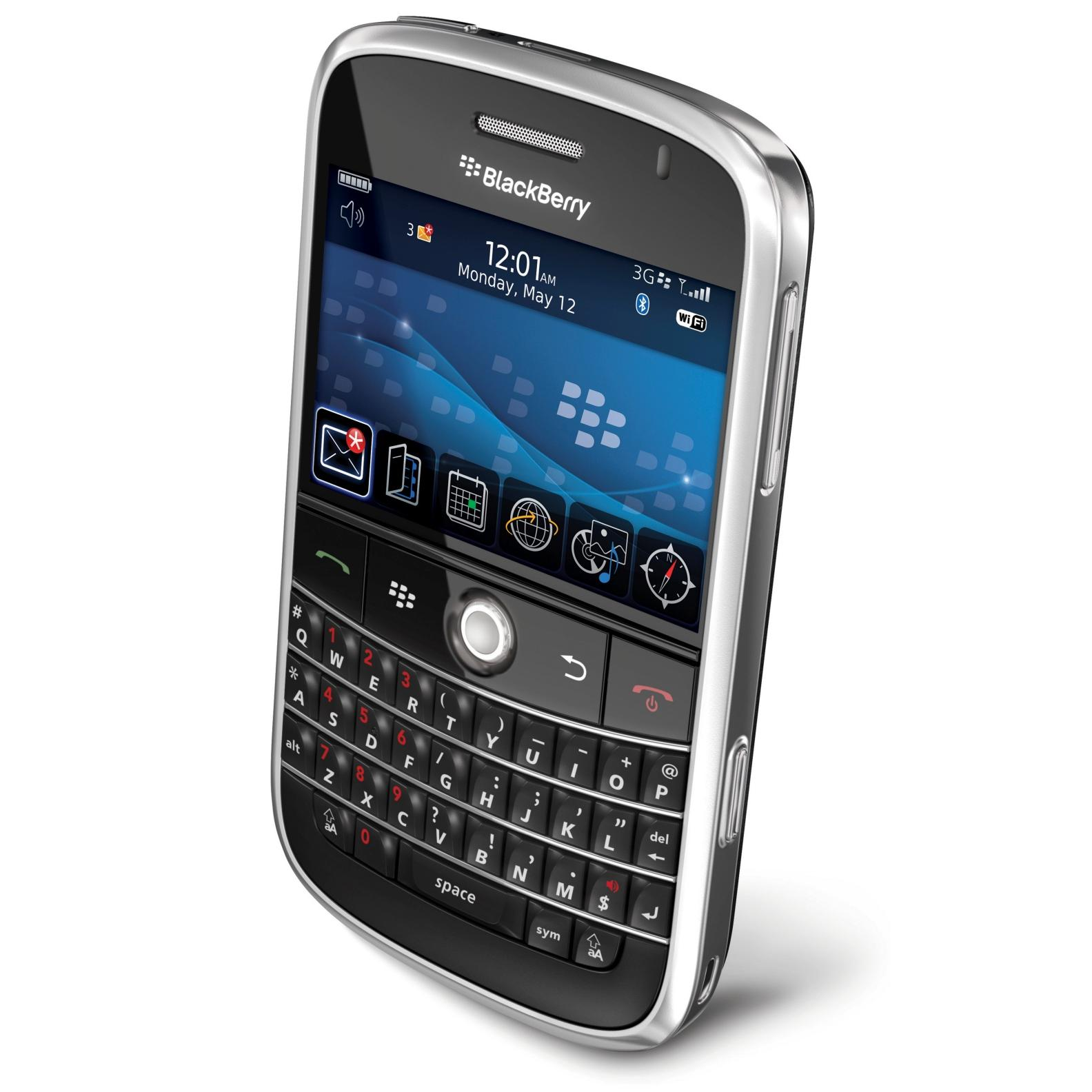 BlackBerry Bold 9000 - Noir- Débloqué