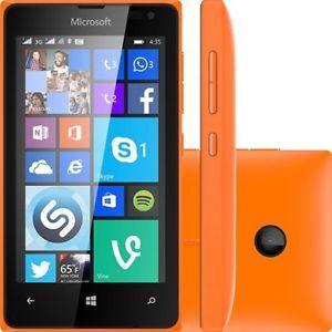 Nokia Lumia 435 - Naranja- Libre