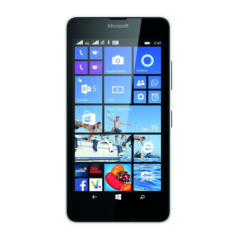 Microsoft Lumia 640 - Biela - Neblokovaný