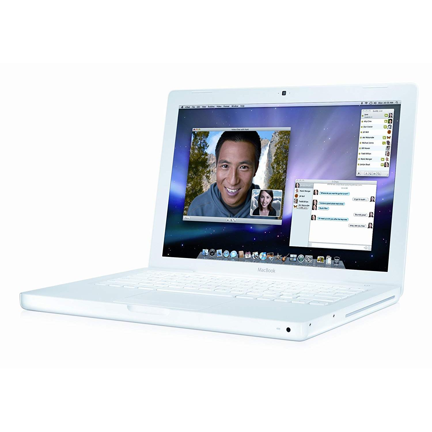 MacBook 13.3-inch (2009) - Core 2 Duo - 4GB - HDD 1 TB QWERTY