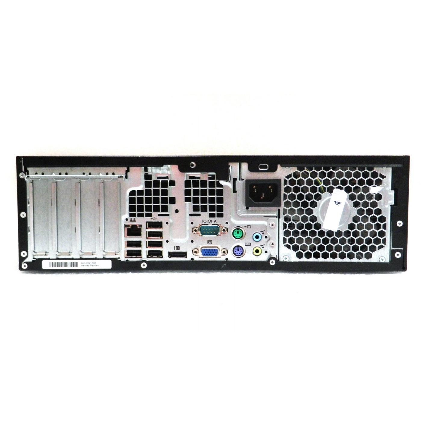 HP Compaq Elite 8200 SFF Core i7 3,4 GHz - SSD 240 GB RAM 8GB