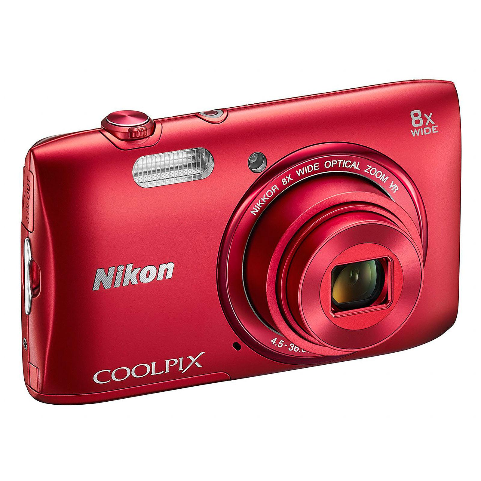Nikon Coolpix S3600 Compact 20 - Red