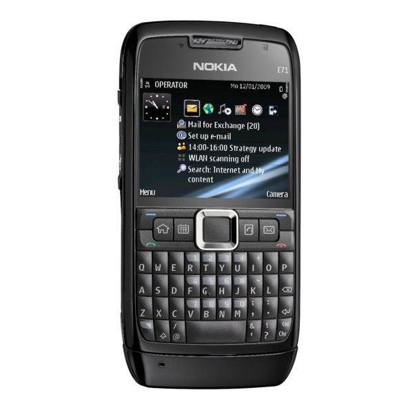 Nokia E71 - Noir- Débloqué