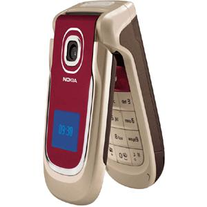 Nokia 2760 - Red/Pink - Unlocked