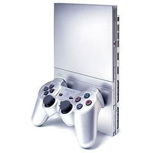 PlayStation 2 Slim - HDD 0 MB - Silver